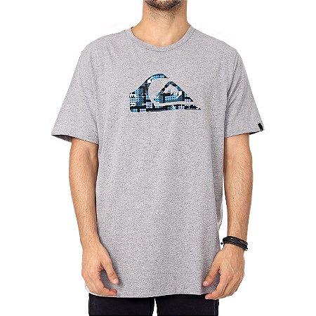Camiseta Quiksilver Recycled Cinza
