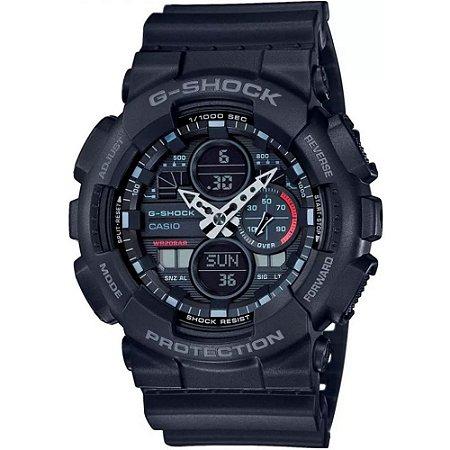 Relógio G-Shock GA-140-1A1DR Preto