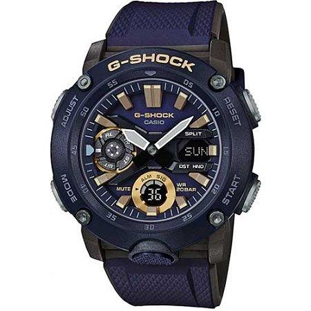 Relógio G-Shock GA-2000-2ADR Azul Marinho