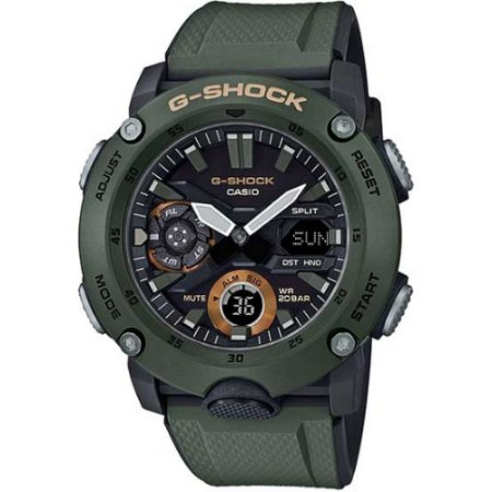 Relógio G-Shock GA-2000-3ADR Verde Escuro