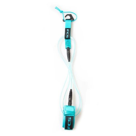 Leash FCS 6' - 5,5mm Essential Comp Transparente/Azul