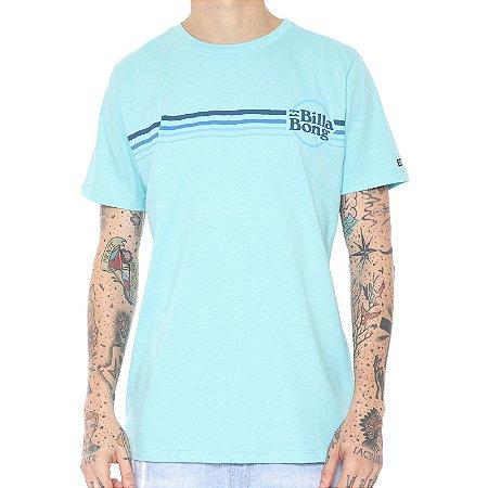 Camiseta Billabong Diecut Azul Claro