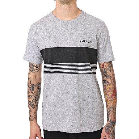 Camiseta Quiksilver Gradient Cinza Claro