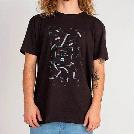 Camiseta Hang Loose Silk Soul Preta