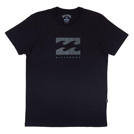 Camiseta Billabong Originals Secret Preto