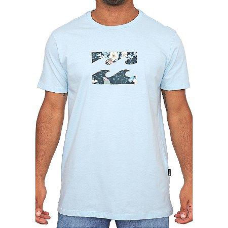 Camiseta Billabong Team Wave Azul Claro