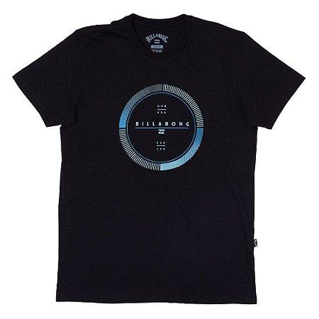 Camiseta Billabong Full Rotator Preto