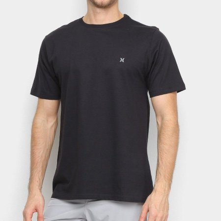 Camiseta Hurley Silk Oversize Icon Big Preto