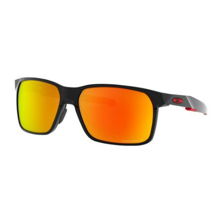 Óculos de Sol Oakley Portal X Polished Black W/ Prizm Ruby Polarized