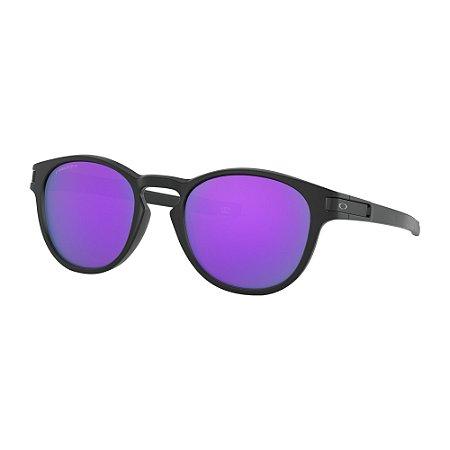 Óculos de Sol Oakley Latch Matte Black W/ Prizm Violet