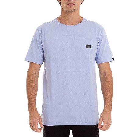 Camiseta Quiksilver Basic Azul Claro