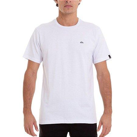 Camiseta Quiksilver Embroidery Branco