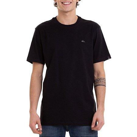 Camiseta Quiksilver Embroidery Preto