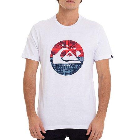 Camiseta Quiksilver Hi Logistic Branco