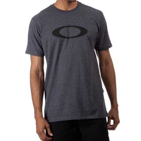 Camiseta Oakley O-Ellipse Cinza Escuro