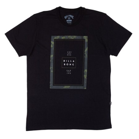 Camiseta Billabong Tucked II Preto