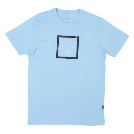 Camiseta Billabong Stacker Azul Claro