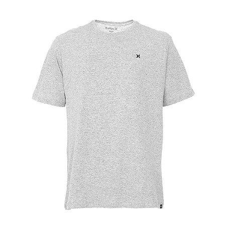 Camiseta Hurley Silk Mini Icon Cinza Claro