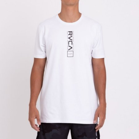 Camiseta RVCA All Out RVCA Branco
