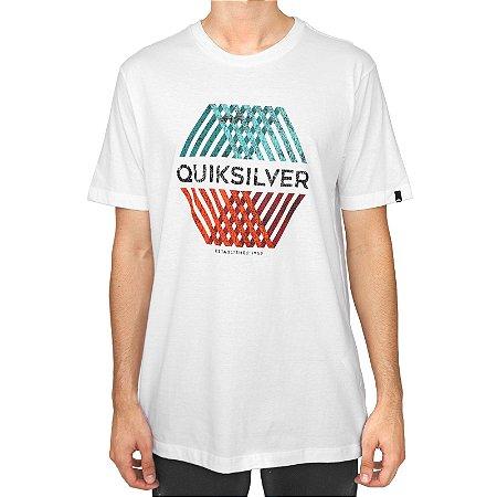 Camiseta Quiksilver Multi Hex Branco