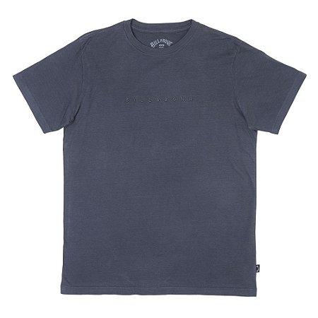 Camiseta Billabong Rough Tee Cinza Escuro