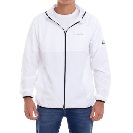 Jaqueta Quiksilver Solid Branco