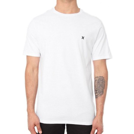 Camiseta Hurley Silk Mini Icon Masculina Branco