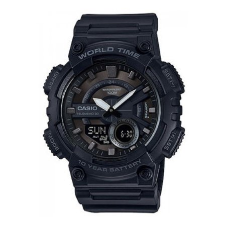 Relógio Casio Standard AEQ-110W-1BVDF Preto
