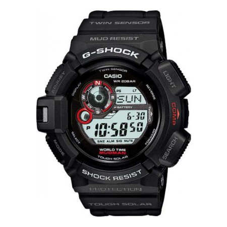 Relógio G-Shock Mudman G-9300-1DR Masculino Preto