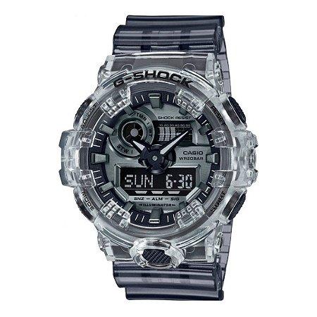Relógio G-Shock Skeleton GA-700SK-1ADR Masculino Transparente