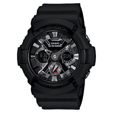 Relógio G-Shock GA-201-1ADR Masculino Preto