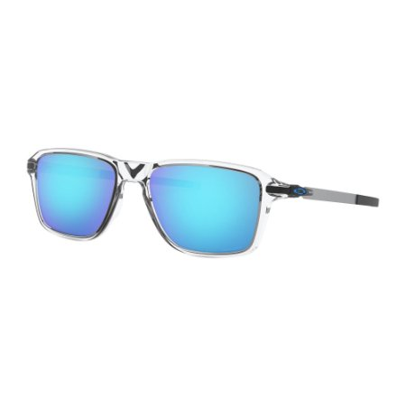 Óculos de Sol Oakley Wheel House Polished Clear W/ Prizm Sapphire