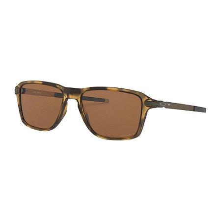 Óculos de Sol Oakley Wheel House Polished Brown Tortoise W/ Prizm Tungsten Polarized
