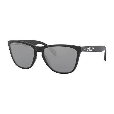 Óculos de Sol Oakley Frogskins Matte Black W/ Prizm Black