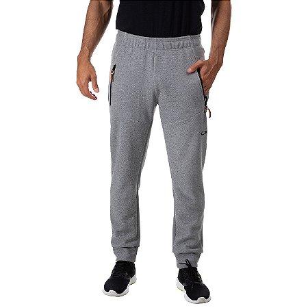 Calça Oakley Moletom 4AM Lite Pant Masculina Cinza