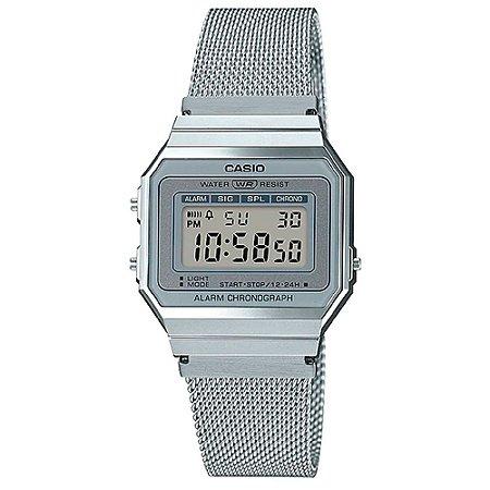 Relógio Casio Vintage A700WM-7ADF Prata