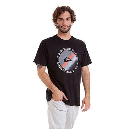 Camiseta Quiksilver Lasy Tree II Masculina Preto