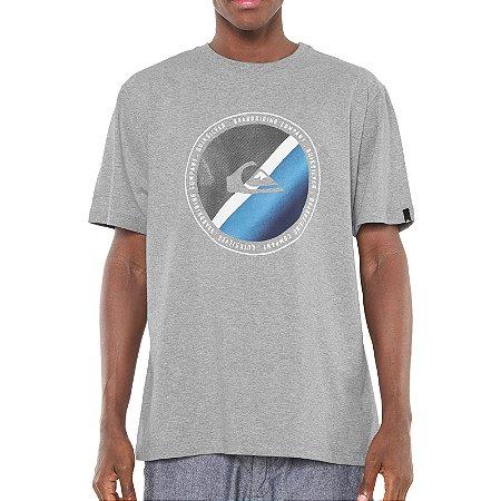 Camiseta Quiksilver Lasy Tree II Masculina Cinza