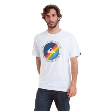 Camiseta Quiksilver Lasy Tree II Masculina Branco
