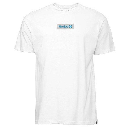 Camiseta Hurley Silk O&O Small Box Branco