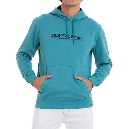 Moletom Quiksilver Fechado Iconic Masculino Azul