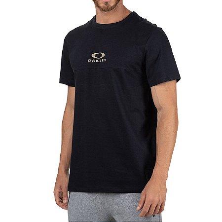 Camiseta Oakley Tractor Block SP Masculina Preto