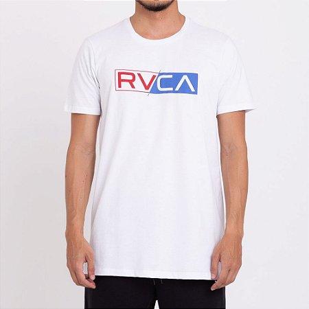 Camiseta RVCA Lateral Big RVCA Masculina Branco