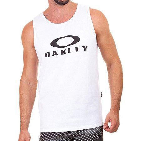 Regata Oakley Bark Tank Masculina Branco