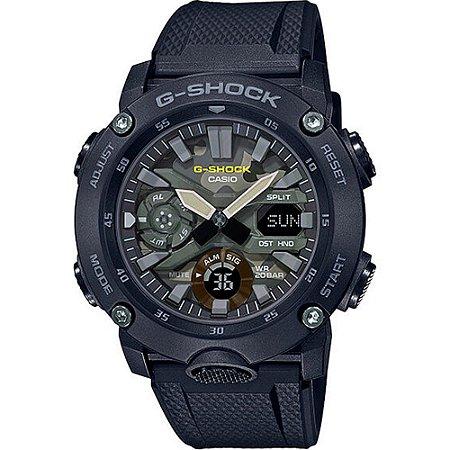Relógio G-Shock Carbon Core Guard GA-2000SU-1ADR Masculino Preto