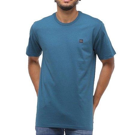 Camiseta Oakley Patch 2.0 Masculina Azul Petróleo