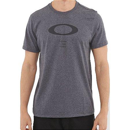 Camiseta Oakley O-Rec Ellipse Masculina Preto