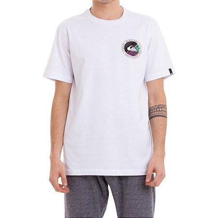 Camiseta Quiksilver Shook Masculina Branco