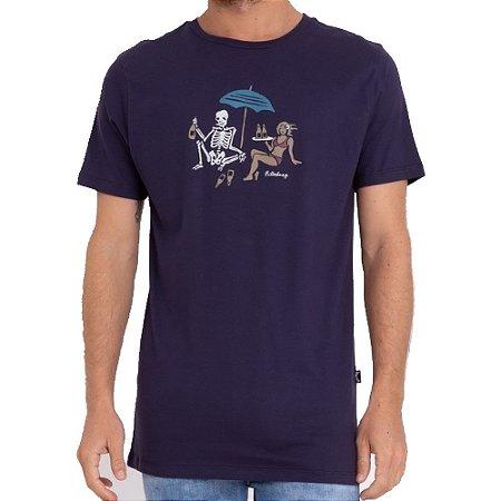 Camiseta Billabong Apocalypse Masculina Azul Marinho