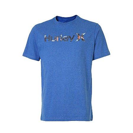 Camiseta Hurley Military Masculina Azul